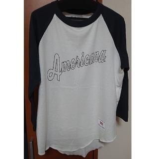 アメリカーナ(AMERICANA)のAmericana アメリカーナ ラグラン Tシャツ 七分袖(Tシャツ(長袖/七分))