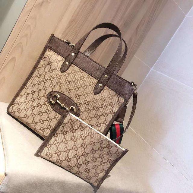 Gucci(グッチ)の即購入OK グッチ トートバッグ ショルダーバッグ ポーチ付き メンズのバッグ(トートバッグ)の商品写真