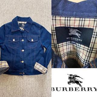 BURBERRY - 90's BURBERRY LONDON バーバリー デニム Gジャン