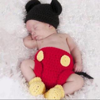 Disney - ミッキー 新生児コスチューム 着ぐるみ