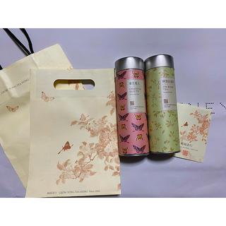 台湾茶 老舗茶葉店 嶢陽茶行 お茶 日本語 説明書 紙袋 付き 新品 未使用 (茶)