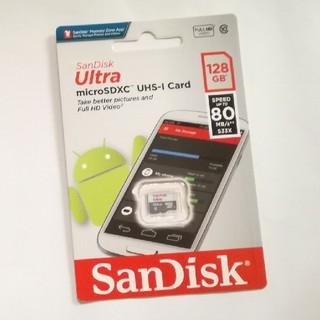 SanDisk - 128GB microSD カード SanDisk サンディスク