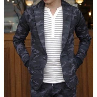 エイケイエム(AKM)の定価51700円 AKM 最強スウェットソリッドジャケット wjkジュンハシモト(テーラードジャケット)