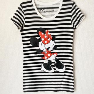 ジョイリッチ(JOYRICH)の美品♡ミニーボーダーTシャツ(Tシャツ(半袖/袖なし))