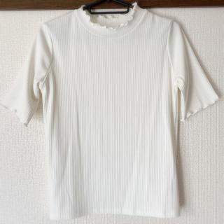 アーカイブ(Archive)の美品♡カットソー ホワイト(カットソー(半袖/袖なし))