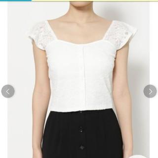 リゼクシー(RESEXXY)のRESEXXYカットレーストップス(Tシャツ(半袖/袖なし))