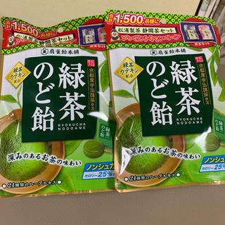 カルディ(KALDI)の緑茶のど飴✴︎扇雀飴本舗(その他)