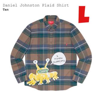 シュプリーム(Supreme)の【L】Supreme Daniel Johnston Plaid Shirt (シャツ)