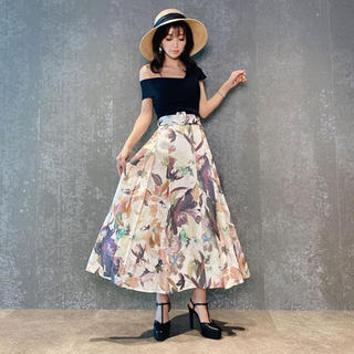 eimy istoire - eimy♥Grace flower ベルトスカート