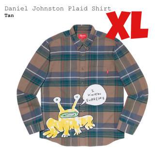 シュプリーム(Supreme)の【XL】Supreme Daniel Johnston Plaid Shirt (シャツ)