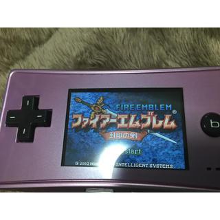 ニンテンドウ(任天堂)のゲームボーイミクロ(携帯用ゲーム機本体)