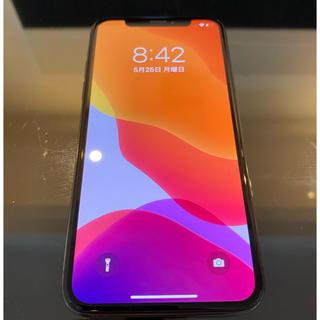 iPhone - 超美品! SIMフリー iPhoneX 256GB スペースグレー シムフリー