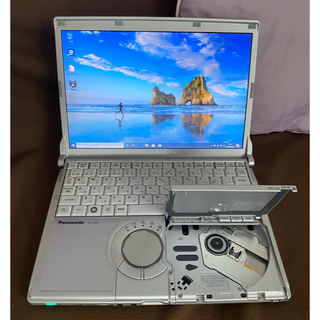 パナソニック(Panasonic)のパナソニック CF-S10 新品SSD240GB 6GB Office(ノートPC)