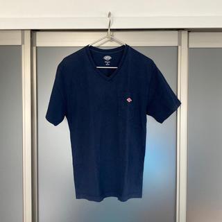 DANTON - ダントン VネックポケットTシャツ size:L(40) 色:NAVY