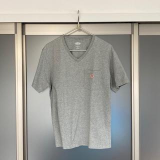 ダントン(DANTON)のダントン VネックポケットTシャツ size:L(40) 色:H.GREY(Tシャツ/カットソー(半袖/袖なし))