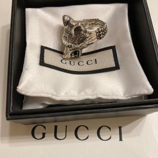 Gucci - Gucci ウルフ リング  19号