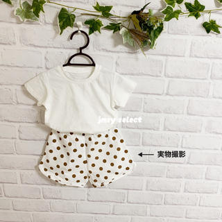 babyGAP - セットアップ シンプルTシャツ シンプル短パン チェック ドット ストライプ