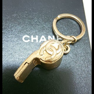 シャネル(CHANEL)のお宝 CHANEL ホイッスル(キーホルダー)