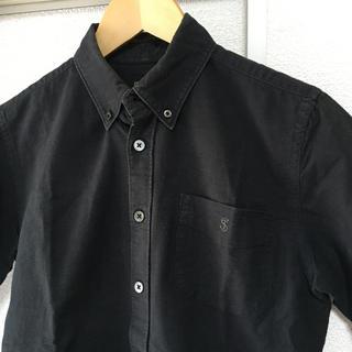 Ron Herman - TODD SNYDERトッドスナイダー XS ブラックシャツボタンダウンシャツ