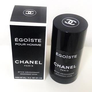 シャネル(CHANEL)のCHANEL エゴイストプールオムデオドラントスティック  75ml(制汗/デオドラント剤)
