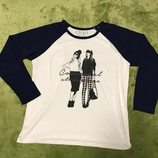 オゾック(OZOC)の薄手長袖シャツ(Tシャツ(長袖/七分))