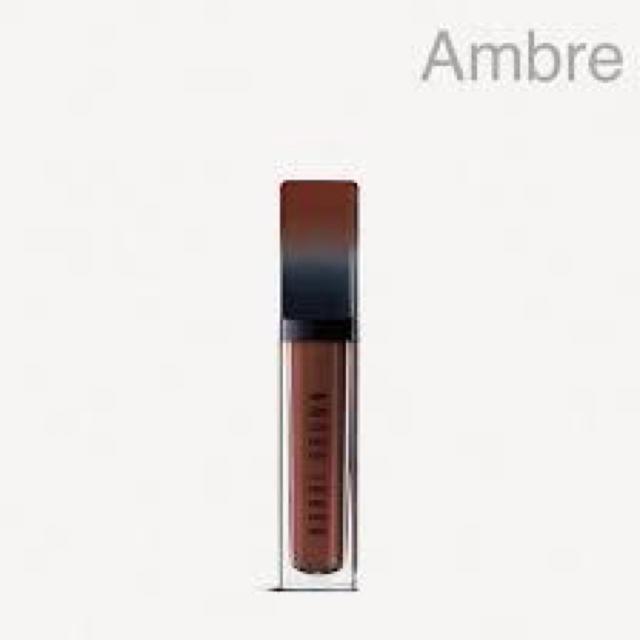 BOBBI BROWN(ボビイブラウン)の【新品】Bobbi Brown クラッシュリクイドリップ#Amber【限定色】 コスメ/美容のベースメイク/化粧品(口紅)の商品写真