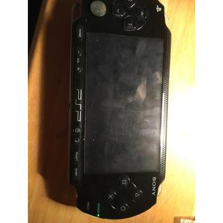 プレイステーションポータブル(PlayStation Portable)のPSP1000ジャンク(携帯用ゲーム機本体)