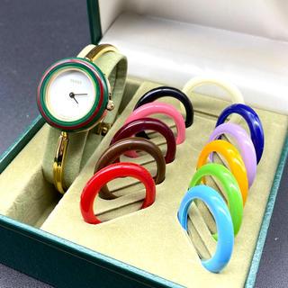 Gucci - GUCCI チェンジベゼル レディース腕時計 Sサイズ
