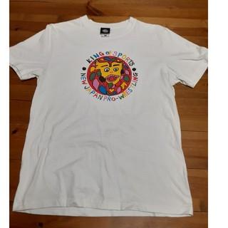 新日本プロレス Tシャツ 中古 Mサイズ タイコウクニヨシ(格闘技/プロレス)