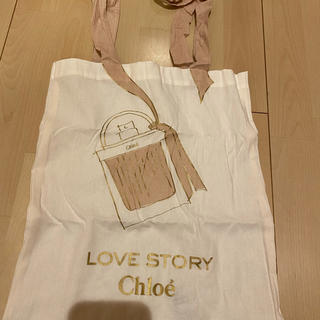 クロエ(Chloe)のChloe トートバック、エコバッグ 貴重非売品!(エコバッグ)