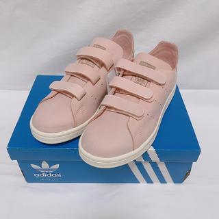 アディダス(adidas)のアディダス スタンスミス ピンク ベルクロ 限定品(スニーカー)