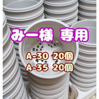【みー様 専用】プラ鉢【A-30】20個 他 スリット鉢 プレステラ 多肉植物(プランター)