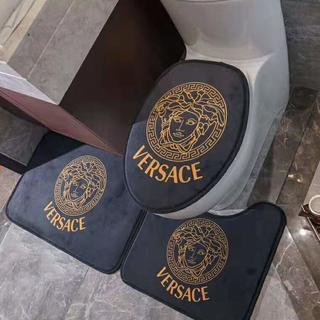 ヴェルサーチ(VERSACE)の人気 洗える トイレマット3点セット(トイレマット)