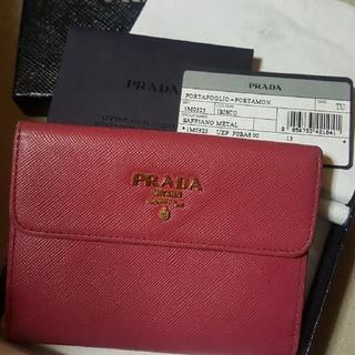 PRADA - PRADA サフィアーノ 二つ折り財布