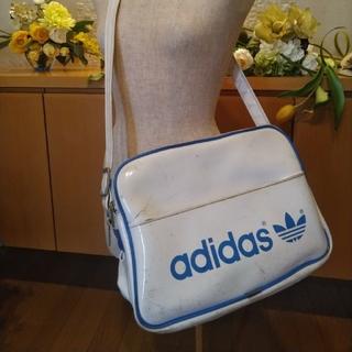 アディダス(adidas)のadidas エナメル USED ショルダーバッグ 白(ショルダーバッグ)
