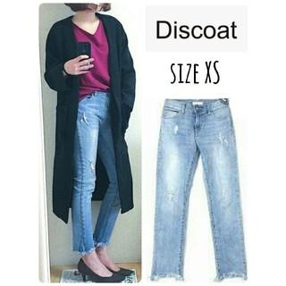ディスコート(Discoat)のDiscoat Parisien cut-off damage skinny(デニム/ジーンズ)