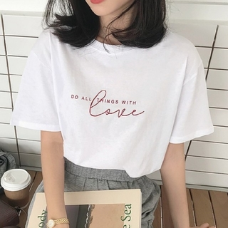 dholic - ラブ ロゴ Tシャツ 【2color】