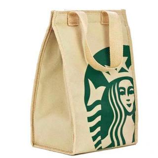 スターバックスコーヒー(Starbucks Coffee)の【即購入大歓迎】スターバックス 保冷・保温 コンパクトトートバッグ(トートバッグ)
