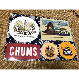 チャムス(CHUMS)のCHUMSのステッカー(しおり/ステッカー)