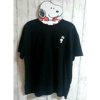 ピーナッツ(PEANUTS)のスヌーピー Tシャツ LL ★シンプルで大人かわいい★(Tシャツ(半袖/袖なし))