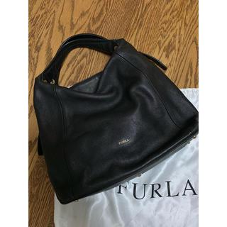 Furla - FURLA エリザベス 黒×グレージュ 外袋付
