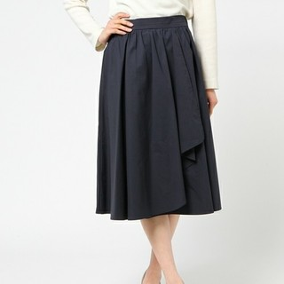 アナイ(ANAYI)のANAYI タイプライターラップギャザースカート(ロングスカート)