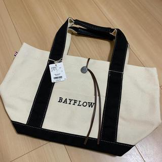 ベイフロー(BAYFLOW)のBAYFLOW コンチョロゴトート M(トートバッグ)