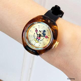 ディズニー(Disney)のBEAMS LIGHTS Disney watch mickey ラウンド 時計(腕時計)