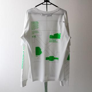 OFF-WHITE - 新品 OFF-WHITE ARCH SHAPES DOUBLE SLEEVE