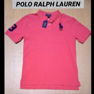 POLO RALPH LAUREN - 新品タグ付き/ラルフローレン ビッグポニー 半袖ポロシャツ XL ピンク