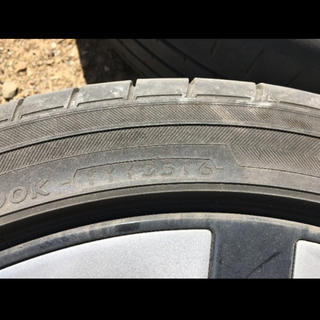 アルミホイール付きタイヤ(タイヤ・ホイールセット)