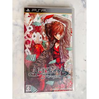 プレイステーションポータブル(PlayStation Portable)の【値下げしました】アムネシア レイター PSP(携帯用ゲームソフト)
