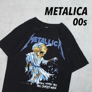 フィアオブゴッド(FEAR OF GOD)の00s メキシコ製 METALLICA メタリカ バンT ロックバンド プリント(Tシャツ/カットソー(半袖/袖なし))