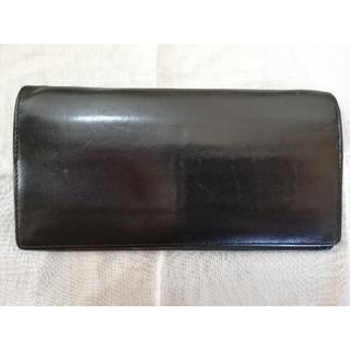 ツチヤカバンセイゾウジョ(土屋鞄製造所)の土屋鞄製造所 コンフィオヌメ革長財布 ブラック(長財布)